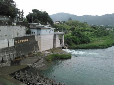 神水ダム 鬼石発電所