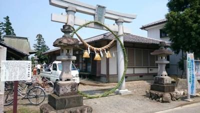 小松神社茅の輪くぐり
