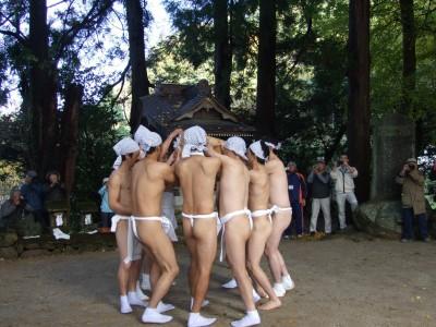 有氏神社 裸祭り