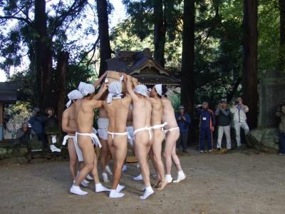 有氏神社 はだか祭り