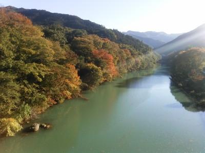 神泉橋より神流川