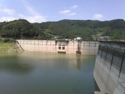 下久保ダム 渇水